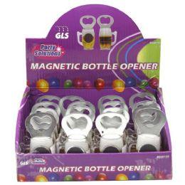 16 Units of Beer Mug Bottle Opener Magnet - Kitchen Gadgets & Tools