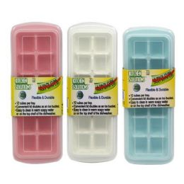 36 Units of ICE CUBE TRAY WITH LID - Kitchen Gadgets & Tools