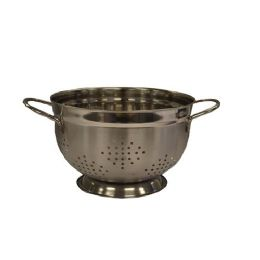 12 Units of 5 QUART GERMAN COLANDER STAINLESS - Stainless Steel Cookware