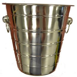 6 Units of Wine Bucket Stainless Steel 8 Inch - Stainless Steel Cookware
