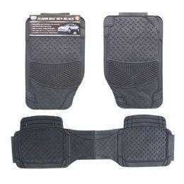 5 Units of 3 PIECE CAR FLOOR MATS BLACK - Auto Sunshades and Mats