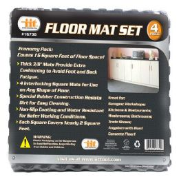 6 Units of 4 PACK SHOP FLOOR MAT - Home Accessories