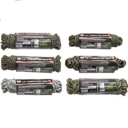 12 Units of Camouflage Rope - Rope and Twine