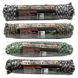 24 Units of Camo Poly Rope - Rope and Twine