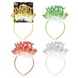 48 Units of New Year Headband - New Years