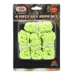 8 Units of Neon Guy Rope Set 4 Pack - Rope and Twine