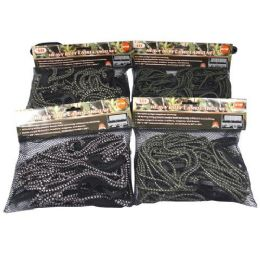 12 Units of Camo Cargo Net - Bungee Cords
