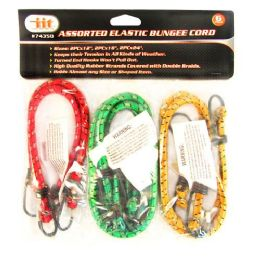 24 Units of 6 Piece Bungee Straps - Bungee Cords