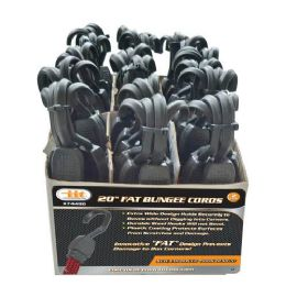 18 Units of 2 Pack Fat Bungee Cords - Bungee Cords