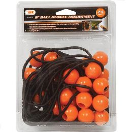12 Units of Ball Bungee Assortment - Bungee Cords