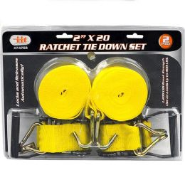 6 Units of Ratchet Tie Down Set - Ratchets