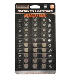 24 Units of 30 Piece Button Cell Batteries - Batteries