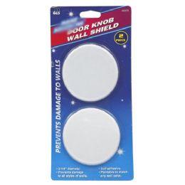 24 Units of 2 PIECE DOOR KNOB WALL SHIELD - Doors