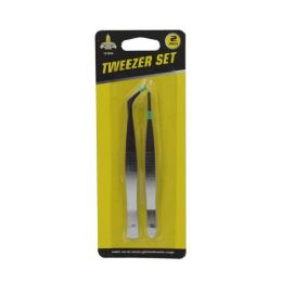 24 Units of 2 PIECE TWEEZERS SET - Tool Sets