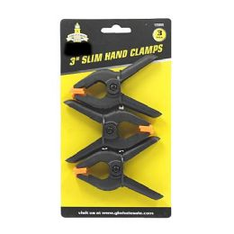 24 Units of 3 Pack Flex Jaw Spring Clamps - Clamps