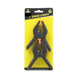 24 Units of 2 PACK FLEX JAW SPRING CLAMPS - Clamps