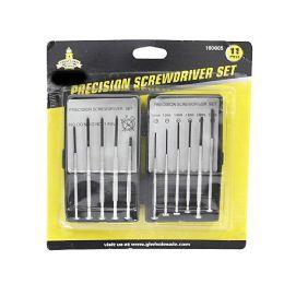 24 Units of 11 PIECE PRECISION SCREWDRIVER SET - Screwdrivers and Sets
