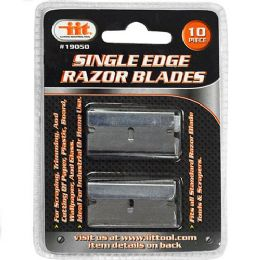 24 Units of 10 Piece Single Edge Razor Blades - Box Cutters and Blades