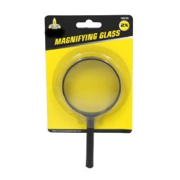 24 Units of 3 INCH MAGNIFYING GLASS 2X REAL GLASS - Magnifying  Glasses