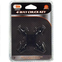 24 Units of 4 Way Chuck Key - Hex Keys