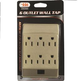 30 Units of 6 Outlet Wall Tap - Electrical
