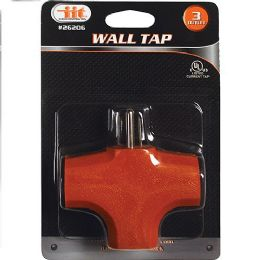 24 Units of 3 Outlet Wall Tap - Electrical