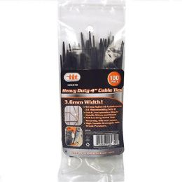 24 Units of 100 Piece Heavy Duty Cable Ties - Cables and Wires