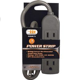 24 Units of 3 Outlet Power Strip - Electrical