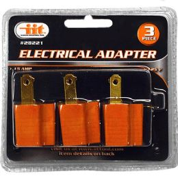 12 Units of 3 Piece Electrical Adapter - Electrical