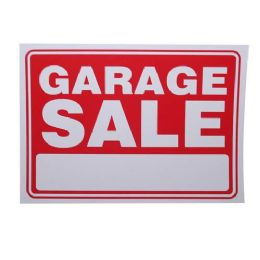24 Units of GARAGE SALE SIGN - Signs & Flags