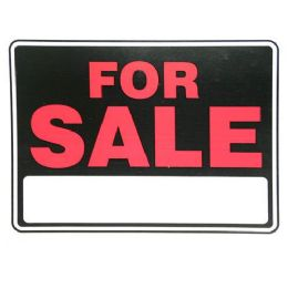 24 Units of 9x12 FOR SALE SIGN 2 COLOR - Signs & Flags