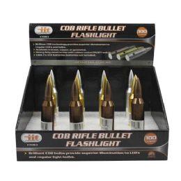 12 Units of 9 Led Rifle Bullet Flashlight - Flash Lights