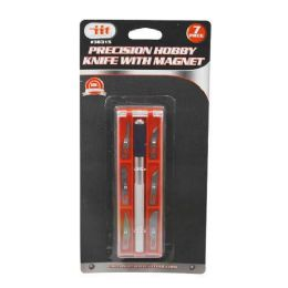 12 Units of PRECISION HOBBY KNIFE WITH MAGNET - Box Cutters and Blades