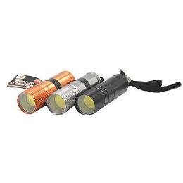 24 Units of Aluminum Cob Flashlight - Flash Lights