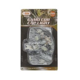 16 Units of Cob Cap Light Camo - Flash Lights