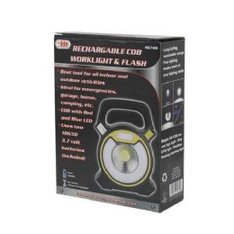 8 Units of RECHARGE COB WORKLIGHT AND FLASH - Lightbulbs