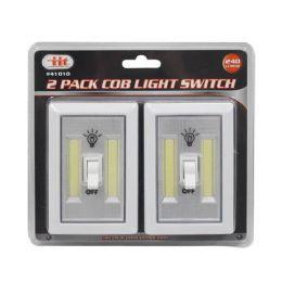 12 Units of 2 PACK COB LIGHT SWITCH - Lightbulbs