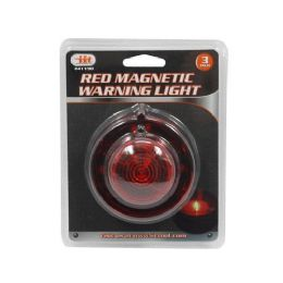 48 Units of Red Magnetic Warning Light 3 Inch - Lightbulbs