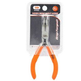 48 Units of Mini Bent Nose Plier - Pliers