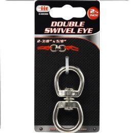 24 Units of DOUBLE SWIVEL EYE - Key Chains