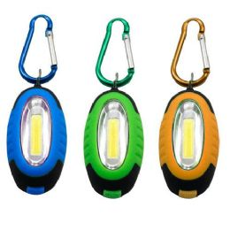 96 Units of Cob Carabiner Keychain Light - Key Chains