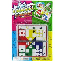 72 Units of 2 In 1 Travel Game Sets - Dominoes & Chess