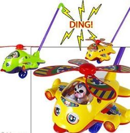 24 Units of Push And Pull Airplane Toy - Cars, Planes, Trains & Bikes