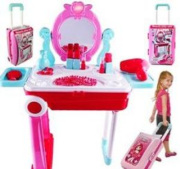 4 Units of 2 In 1 17 Piece Be Star Suitcase Beauty Sets - Toy Sets
