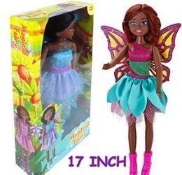 6 Units of Ethnic Magical Fairy Dolls - Dolls