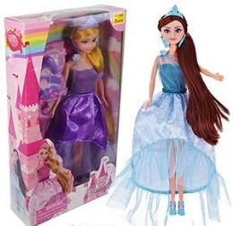12 Units of 6 Piece Princess Doll Play Sets - Dolls