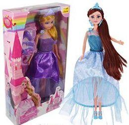 12 Units of 6 Piece Princess Doll Play Sets - Dolls