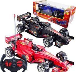 6 Units of Remote Control Formula Race Cars - Cars, Planes, Trains & Bikes