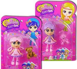 40 Units of 2 Piece Barmila Mini Doll Sets - Dolls