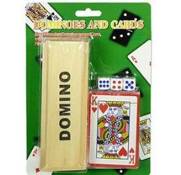 48 Units of Dominoes Dice And Playing Cards Sets - Dominoes & Chess